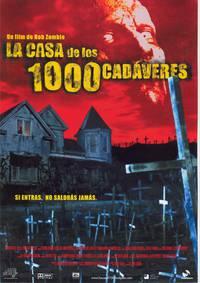 Постер Дом 1000 трупов