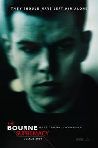 Постер Превосходство Борна