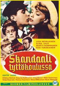 Постер Скандал в женской гимназии