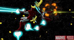 """Кадр из фильма """"Мстители: Величайшие герои Земли"""" - 2"""