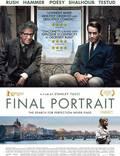 """Постер из фильма """"Последний портрет"""" - 1"""