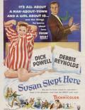 """Постер из фильма """"Здесь спала Сьюзен"""" - 1"""