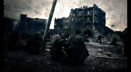 "Кадр из фильма ""Сталинград"" - 1"