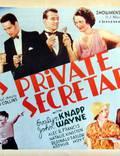 """Постер из фильма """"His Private Secretary"""" - 1"""