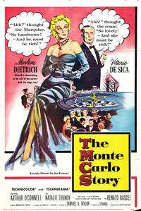 Постер История в Монте-Карло