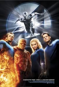 Постер Фантастическая четверка 2: Вторжение Серебряного серфера