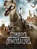 """Постер из фильма """"Ковбои против динозавров"""" - 1"""