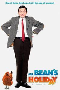 Постер Мистер Бин на отдыхе