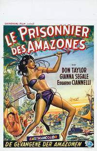 Постер Рабыни любви Амазонки