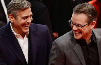 Джордж Клуни и Мэтт Дэймон работают над двумя совместными фильмами