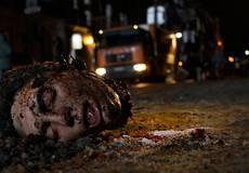Съемки украинского триллера: оторванная голова и ключи в окровавленных ушах