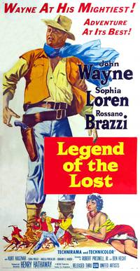 Постер Легенда о потерянном