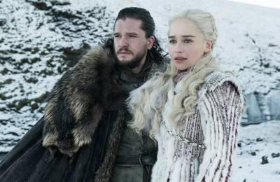 8 сезон «Игры престолов»: постер с драконом