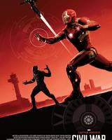 """Постер из фильма """"Первый мститель: Противостояние"""" - 6"""