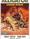 """Постер из фильма """"Аллигатор"""" - 1"""