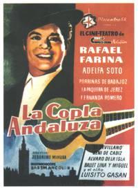 Постер La copla andaluza