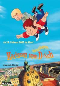 Постер Карлсон, который живет на крыше