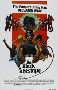 Постер Черное Гестапо
