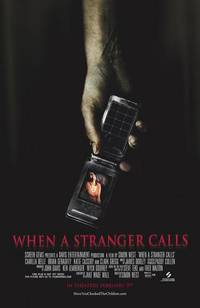 Постер Когда звонит незнакомец