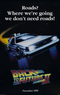 Постер Назад в будущее 2