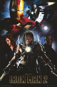 Постер Железный человек 2