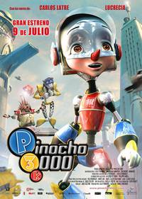 Постер Пиноккио 3000