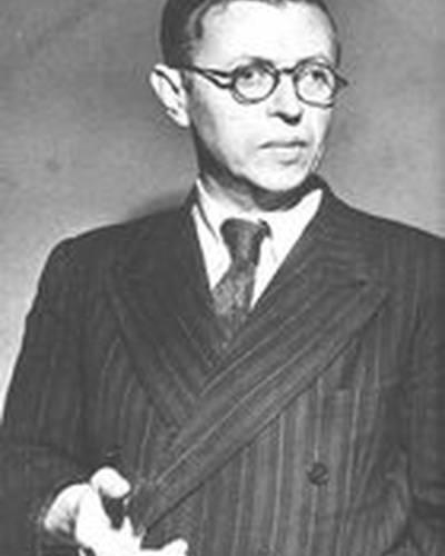 Жан-Поль Сартр фото