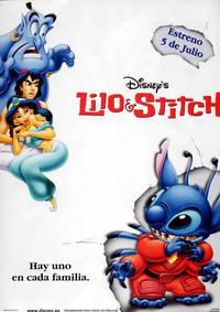 Постер Лило и Стич