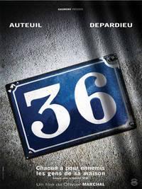 Постер Набережная Орфевр, 36