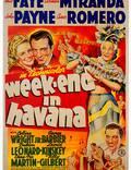 """Постер из фильма """"Уик-энд в Гаване"""" - 1"""
