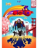 """Постер из фильма """"Город героев (Супер шестерка)"""" - 5"""