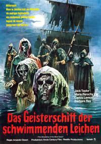 Постер Слепые мертвецы 3: Корабль слепых мертвецов