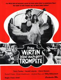 Постер Frau Wirtin bläst auch gern Trompete