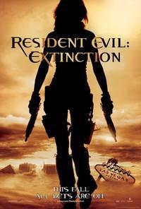 Постер Обитель зла 3: Вымирание