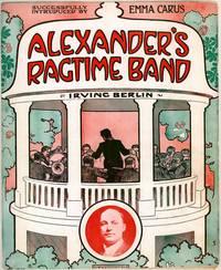 Постер Рэгтайм Бэнд Александра