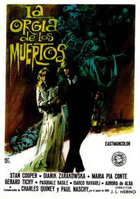 Постер Оргия живых мертвецов