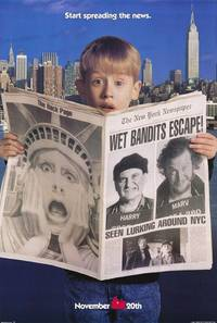 Постер Один дома 2: Затерянный в Нью-Йорке