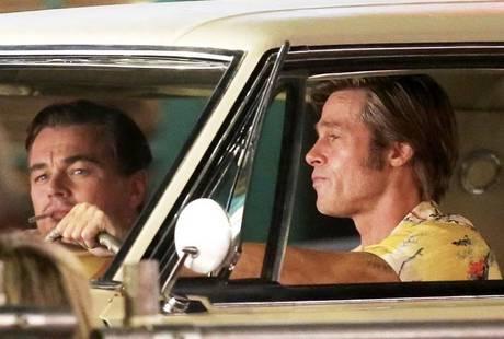 «Однажды в Голливуде» Тарантино: постеры с Питтом, ДиКаприо и Робби