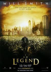 Постер Я - легенда!
