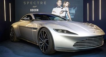 Авто Джеймса Бонда из «Спектра» ушло с молотка за $3,5 млн