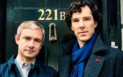 15 лучших гифок из сериала «Шерлок»
