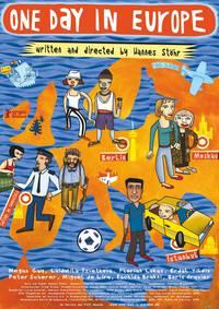Постер Один день в Европе