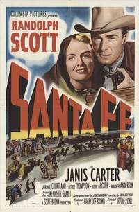 Постер Санта Фе