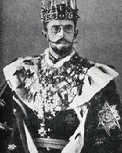 Король Густав V фото