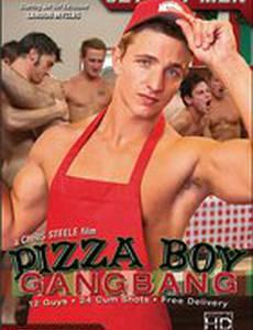 Pizza Boy Gangbang (видео)