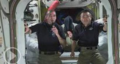 """Промо-ролик """"NASA поздравляет с победой на Оскаре"""" (часть 1)"""