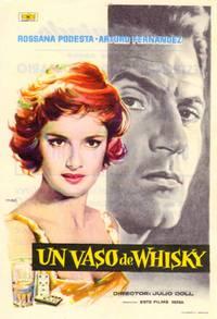 Постер Un vaso de whisky