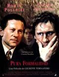 """Постер из фильма """"Простая формальность"""" - 1"""