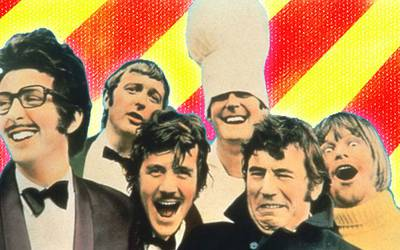 Как «Монти Пайтон» создали великую комедию на ТВ