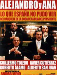Alejandro y Ana. Lo que España no pudo ver del banquete de la boda de la hija del presidente (видео)